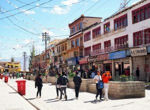 Leh Main Market