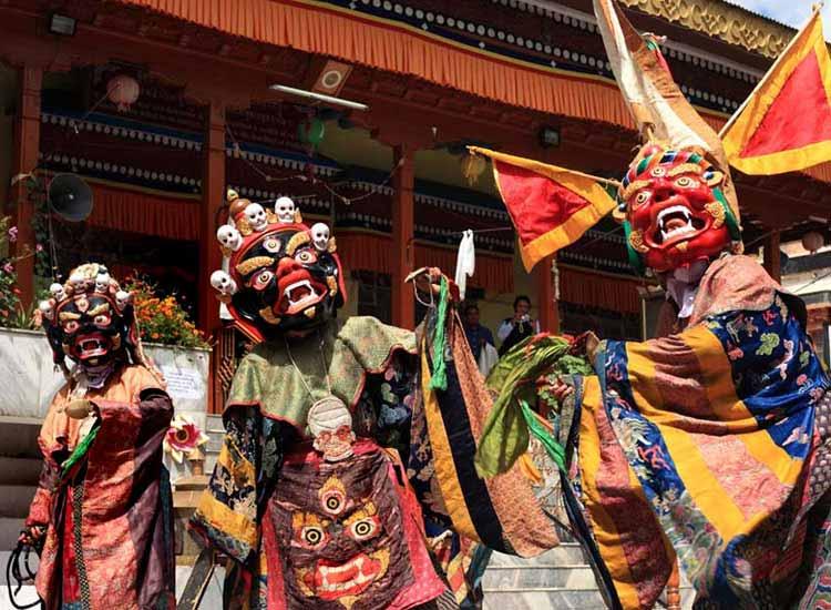 Losar Festival in Ladakh