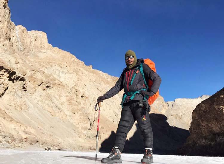 Trekking in Ladakh- Virender Rajput