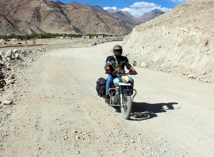Ladakh Motorcycle Tour- Vishal Chauhan