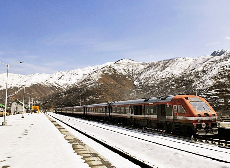 world highest rail line ladakh