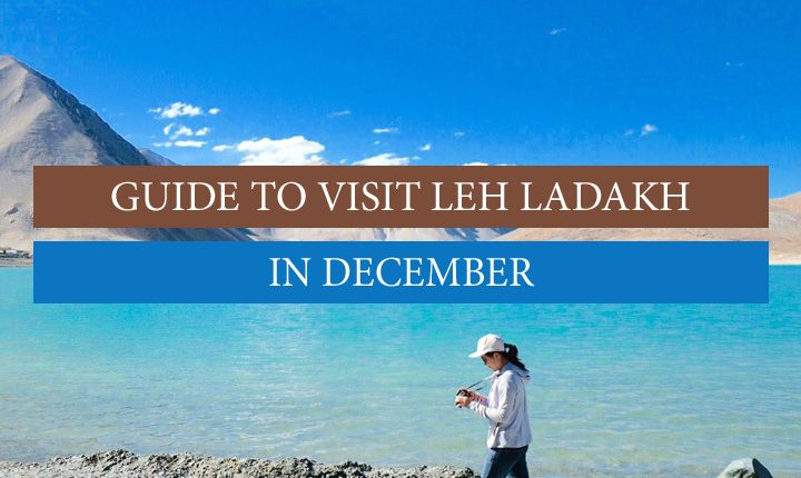 Leh Ladakh in December