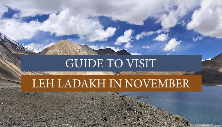 travel to leh ladakh in November